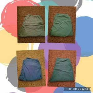Solid color leggings